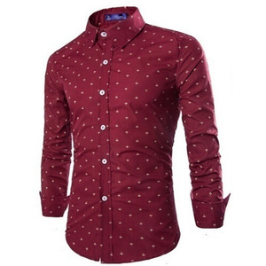 Image 5 - Zogaa 2019 Men Fashion Casual Long Sleeved Small Arrow Shirt Business Dress Shirt Slim Fit Male Social Brand Men Soft Clothing
