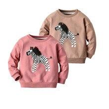 Sweatshirt Baby-Girls Winter Pullover Sudadera Undefined Zebra-Pattern Boy Zebra-Pattern