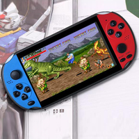 5.1 Inch Screen Video PSP Handheld Game Console Classic TV Connection Portable Family Fun USB Kids Support TF Card