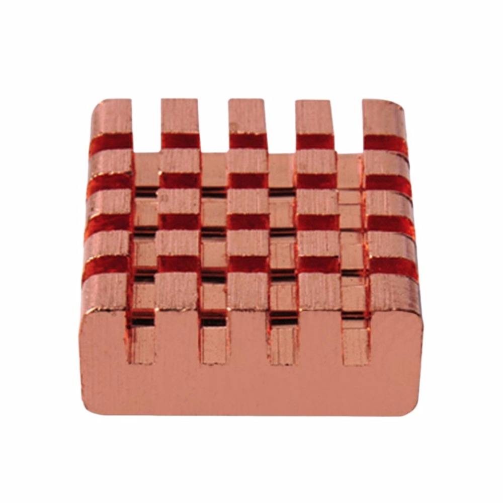 8pcs/Pack PCCOOLER RHS-03 Pure Copper DDR DDR2 DDR3 Memory Heat Sink With Bottom Self-adhesive Tape RAM Radiator Cooler