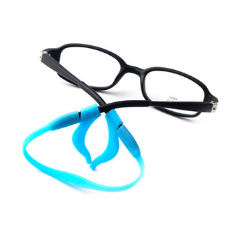Anti Slip Ear Hook Eyeglass Eyewear Accessories Eye Glasses Silicone Grip Temple Tip Holder Spectacle Eyeglasses Grip Ear Hooks image