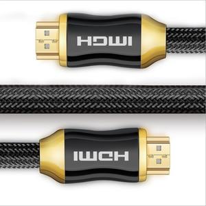 Высокоскоростной HDMI кабель видео кабели позолоченный 1,4 кабель 1080P 3D кабель плетеный шнур Ультра для HDTV сплиттер swither XBOX PS4