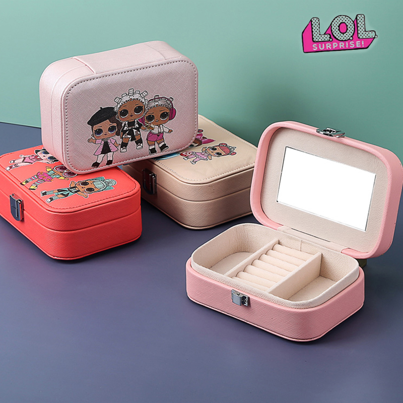 Original LOL Surprise Dolls Rings Jewelry Packing Display Cartoon Lols Dolls Figures Action Toys Surprise Birthday Girl's Gift
