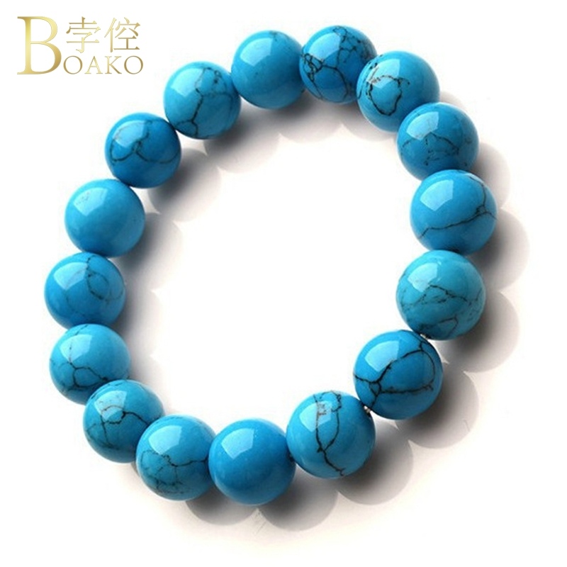 BOAKO Natural Stone beads for jewelry making women men bracelets bangles beads necklace striped stone beads 4mm 6mm 8mm 12mm Z5 in Beads from Jewelry Accessories