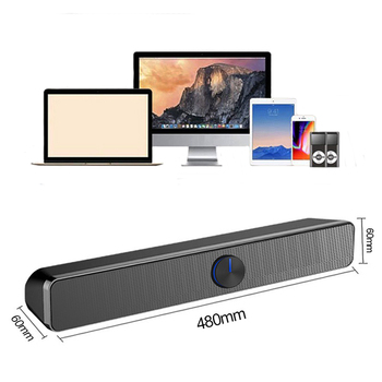 Barra de sonido con cable Subwoofer para PC, portátil, TV, sistema de...