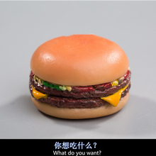 in stock 1/6  New Hamburger model Cheeseburger with Tony Stark 2 burgers Iron Man also loves to eat burgers in stock цена 2017