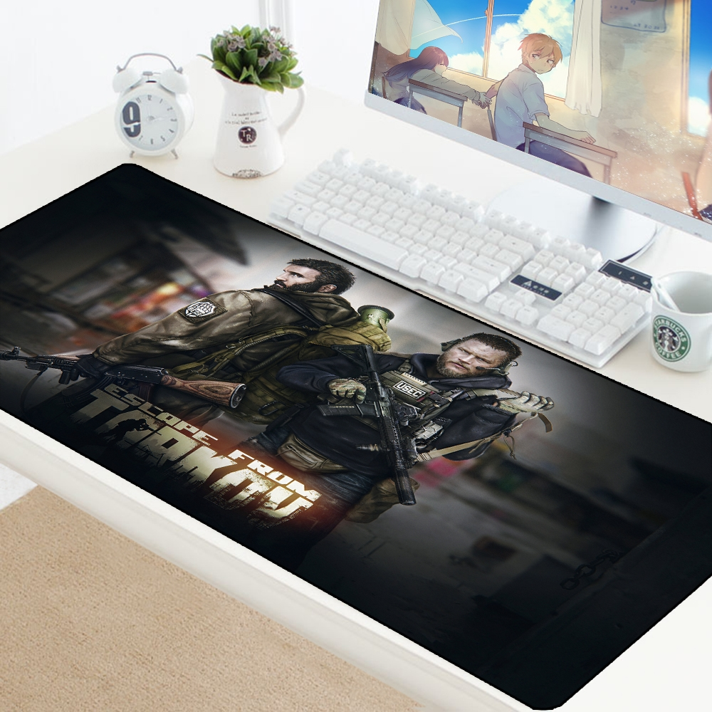 Escape from Tarkov Mouse Pad Big Gamer Play Mats Computer Gaming Accessories XL Large Mousepad Keyboard Rubber Games pc Desk Pad 3