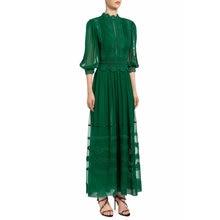 Элегантное весенне летнее платье для женщин ТРАПЕЦИЕВИДНОЕ кружевное