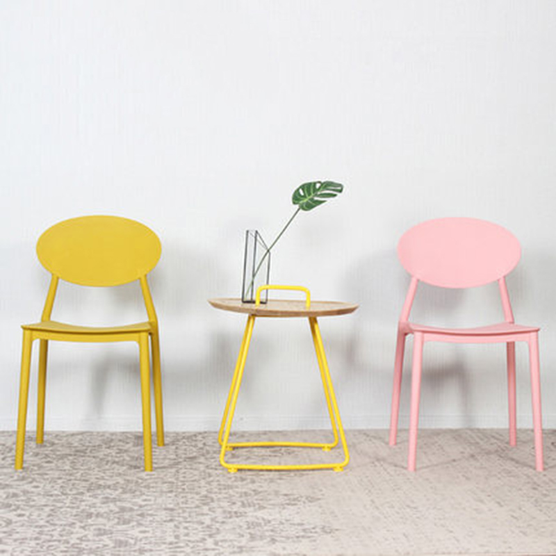 Modern Home PP Plastic Dining Chair China Injection Molding Process Dining Chairs For Dining Rooms Kitchen Bedroom Living Room