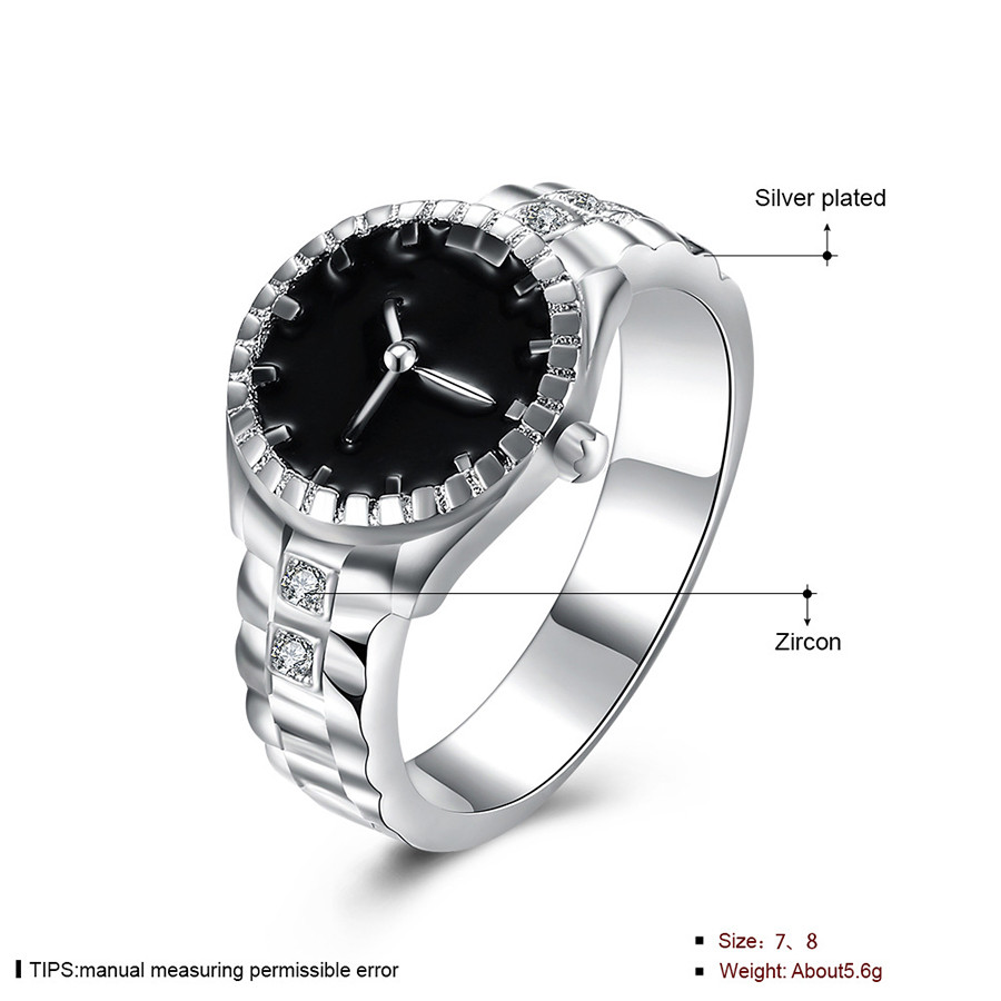 Fashion Women Mens Dial Quartz Analog Watch Creative Steel Cool Alloy Finger Ring Watch