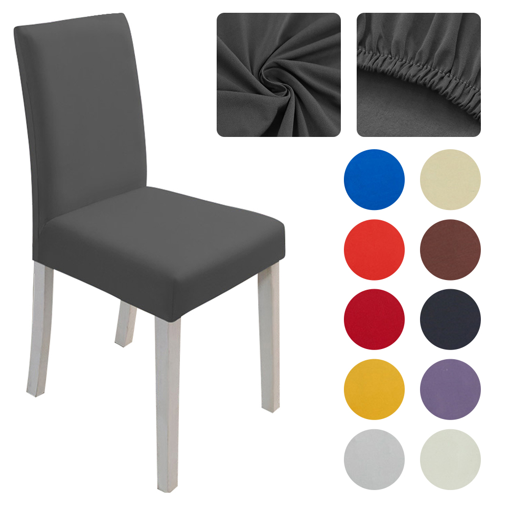 Stretch Dining Chair Covers For Dining Room Slipcovers Universal Fitting Chair Protective Covers For Dining For Wedding Hotel Sturdy Construction