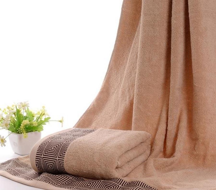 Livraison gratuite grandes serviettes de bain pour adultes serviette de douche pur coton épaississement serviettes de plage noël serviette de bain Medusa 60T77