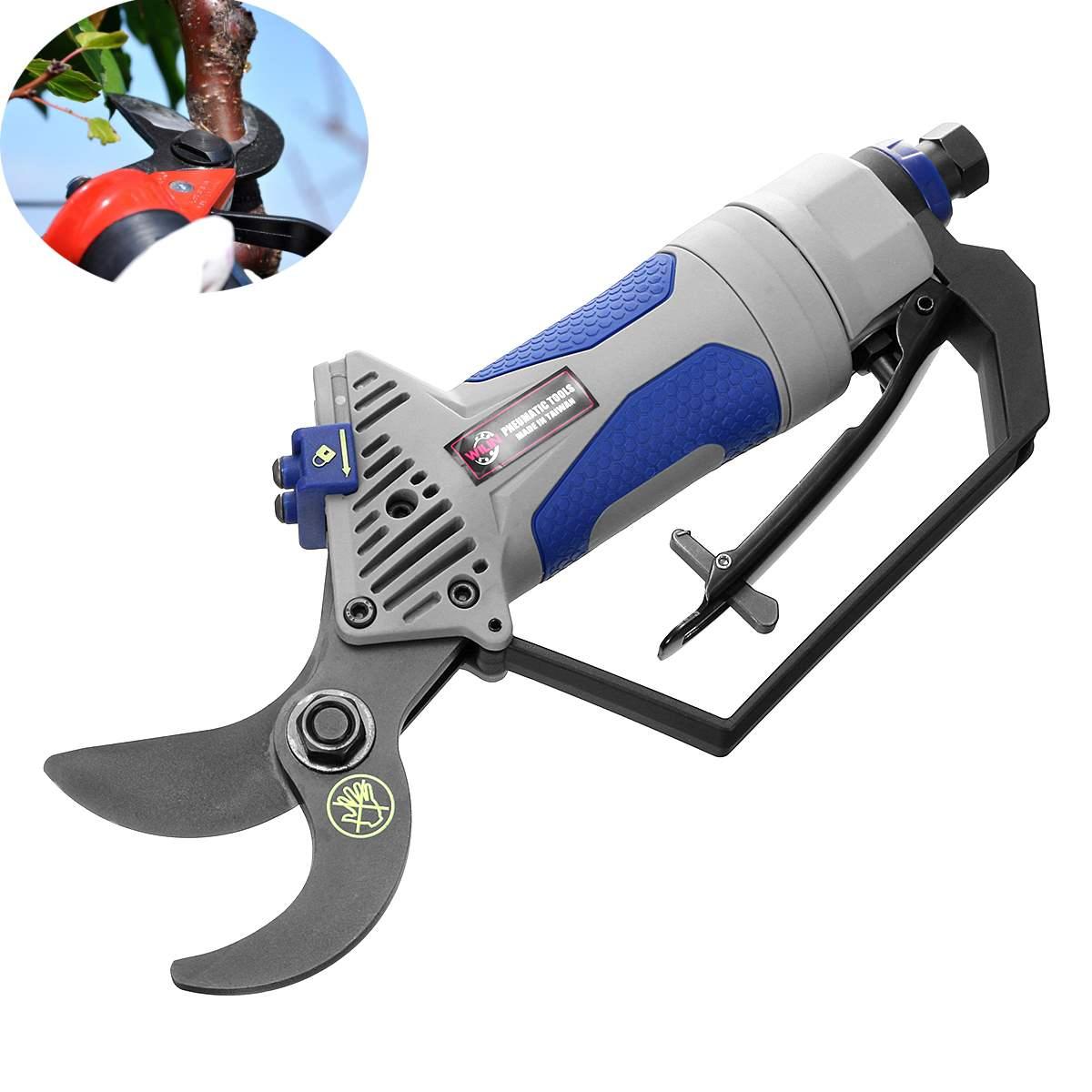 Tools Trim Pruners Garden Handheld Scissors Pruning Branches Air Grass Cutter Secateur Garden Yard Cutting Shears Pneumatic Tree