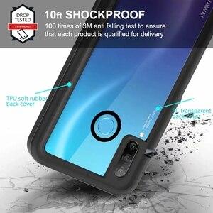 Image 2 - A Prova di acqua Per Il Caso di Huawei P30 Lite Nova 4e Custodia Impermeabile 360 di Protezione Completa Fundas Borsette Shock Proof Caso Della Copertura