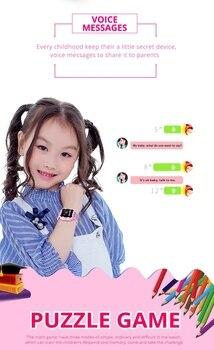 Детские смарт-часы Wonlex KT03