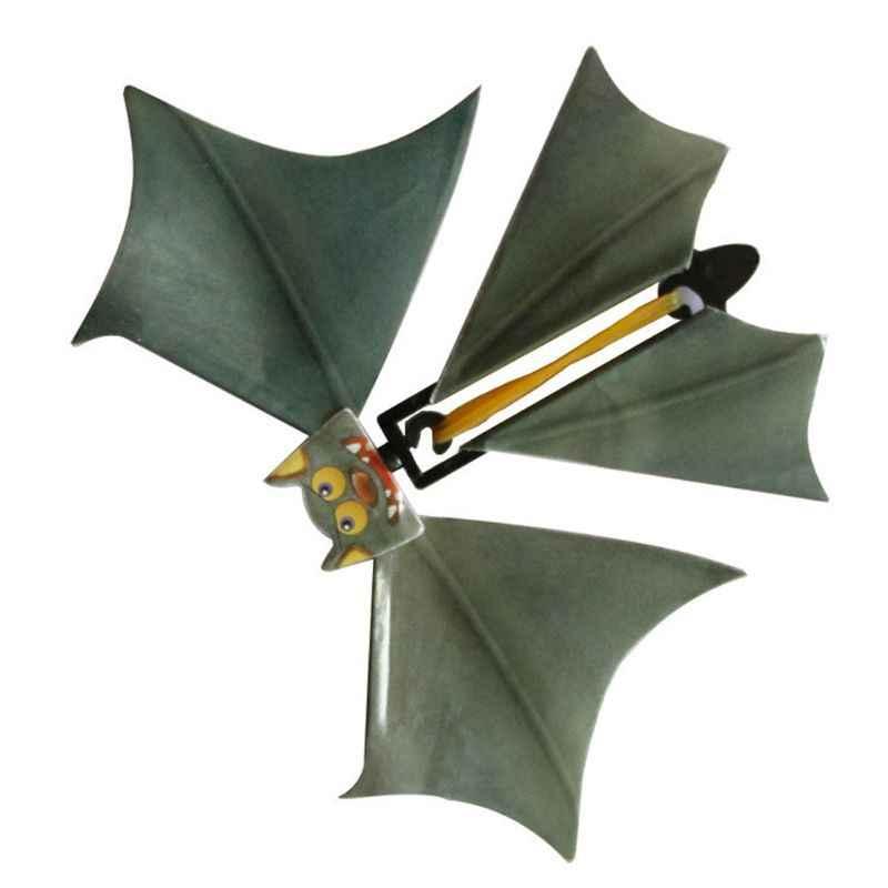 Sihirli yarasa uçan yarasa el dönüşüm Fly kelebek sihirli sahne komik sürpriz Prank Joke sihirli oyuncak 72XC