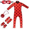 Костюм комплект детской одежды для девочки; Вечерние Рождество женская обувь для костюмированной вечеринки на Хэллоуин Bug маринетт маленьк...