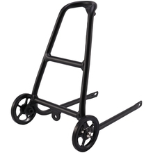 Задняя велосипедная стойка из алюминиевого сплава типа Q для Brompton с удобными колесами, держатель для велосипеда, полка для багажа, Аксессуары для велосипеда