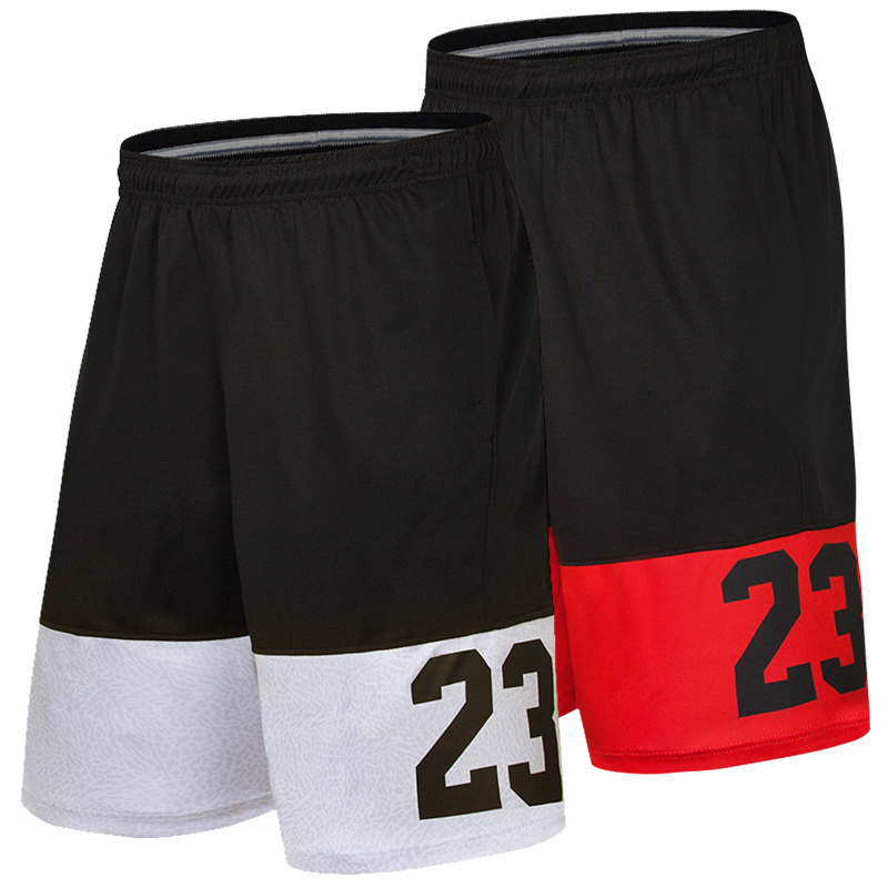 2019 Hot Cool basketball Breathable Sports Running Shorts Outdoor Soccer Jersey Loose Beach GYM sport Mens USA Basketball Shorts image