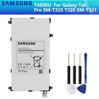 Оригинальный аккумулятор SAMSUNG T4800E T4800U T4800C T4800K для Samsung Galaxy Tab Pro 8 4 in SM-T321 T325 T320 T321 4800mAh