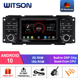 WITSON Android 10.0 CAR DVD SYSTEM for CHRYSLER GRAND VOYAGER with gps AUTO STEREO DAB/OBD/TPMS/DVR/Wifi/3G/4G support(China)