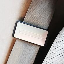 Clip de cinturón de seguridad de coche, soporte Universal para cinturones de seguridad, hebilla de tope, accesorios para cinturón de seguridad de coche, 2 uds.
