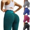 Леггинсы женские стрейчевые, спортивные штаны для фитнеса, бега, спортзала, полноразмерные для активного отдыха