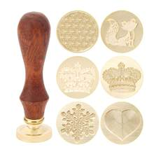 1Pc Antique Metal Sealing Wax Seal Stamp for DIY Wedding Invitations Decor Ancient Wax Stamp Craft(China)