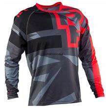 2021 Off Road ATV Racing koszulka 2021 AM RF rowerowa jazda na rowerze rower koszulka zjazdowa koszulka motocyklowa Motocross MTB DH MX Ropa D tanie tanio CN (pochodzenie) Poliester Pełna Wiosna summer AUTUMN Nie zamek Pasuje prawda na wymiar weź swój normalny rozmiar Suknem