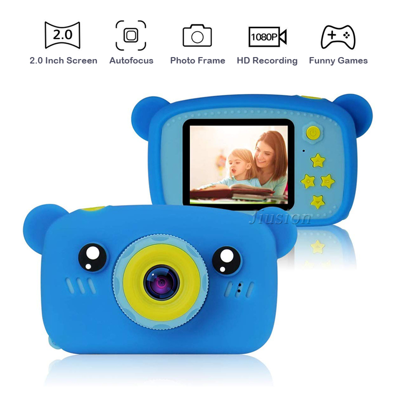 <font><b>Kinder</b></font> Mini Kamera 1080P <font><b>Kinder</b></font> Digital Video Foto Camara Fotos Infantil 2 Zoll Bildschirm <font><b>Baby</b></font> <font><b>Kinder</b></font> Kind Spielzeug Foto camcorder image