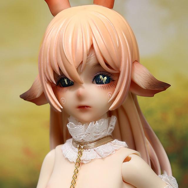 FreeShipping Funan The Deer Male Doll BJD 1/4 Fantasy Centaur Hybrid Fairies High Quality Toy For Girl Fairyland Oueneifs