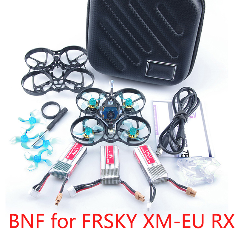 GEELANG ANGER 75X V2 75mm BWhoop 3-4S FPV Racing Drone Quadcopter BNF/PNP SI-F4 Fly Tower EOS V2 1202 KV6900 Brushless