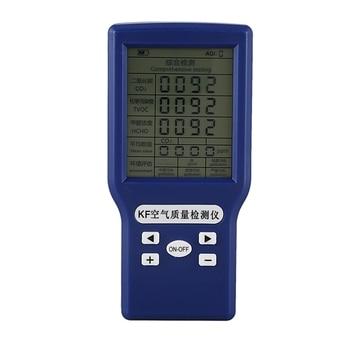 HOT-Co2 Ppm metrów nowy przenośny detektor dwutlenku węgla Co2 Tvoc Hcho Aqi Monitor wielu analizator gazów tester jakości powietrza gorąca sprzedaż