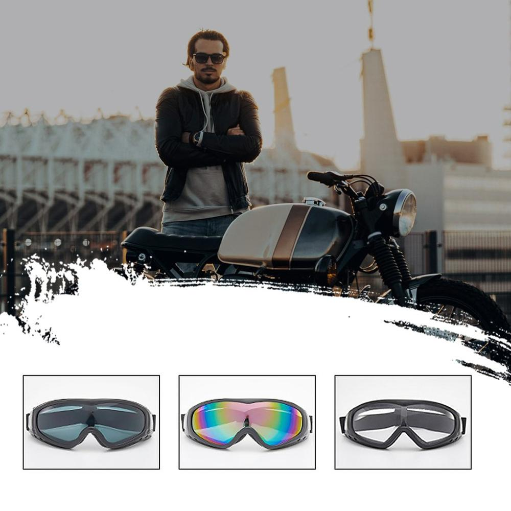 Professional Hd Mountaineering Goggles Color Film Ski Goggles Cs Windproof Glasses Motorcycle Windshield