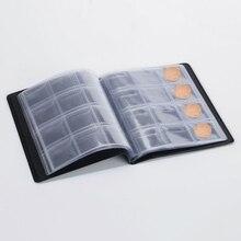 120 Pockets Coins Holder Album Book Coin Collection Money Organizer Storage Bag