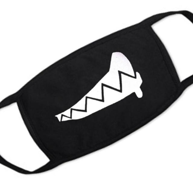 1PC Cartoon Lovely Cotton Mouth Face Masks Keep Warm Women Men Clothing Accessories Anti-dust Pollution Unisex Anime Mouth Masks 3