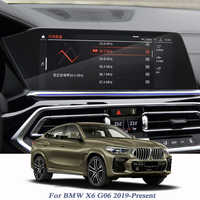For BMW X6 G06 2019-Present Car Styling GPS Navigation Screen Glass Protective Film Dashboard Display Film Internal Accessories