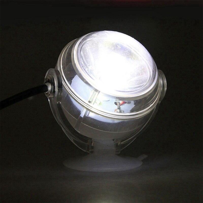 LED Underwater Lamp Waterproof LED EU Plug 110V 220V Aquarium Light For Coral Reef Fish Tank Submersible Aquarium Light Spot Lam