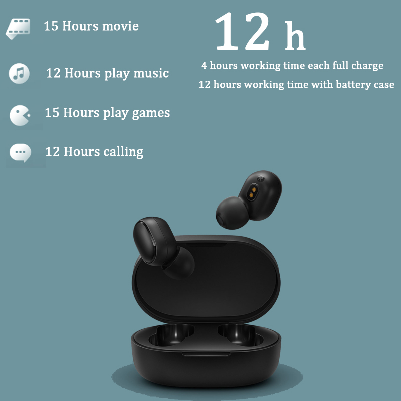 lowest price Xiaomi Redmi AirDots 2 TWS Wireless Stereo Bluetooth 5 0 Earphone Noise Reduction Handsfree AI Voice Control Generation 2