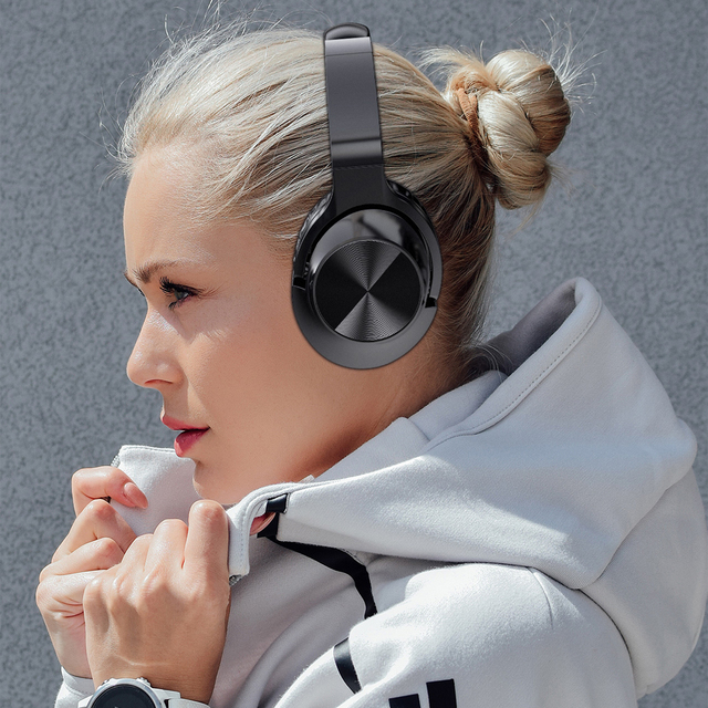 ANC Noise Cancelling Headphones Bluetooth Wireless Gamming Headset Gamer PC 3.5mm Wired PS4 Earphone Deep Bass for Laptop Tablet 6
