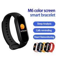 2021 M6 Band Smart Watch Men Women Smartwatch Heart Rate Sports Fitness Tracking Bracelet For Apple Xiaomi Mi Smartband Watches 1