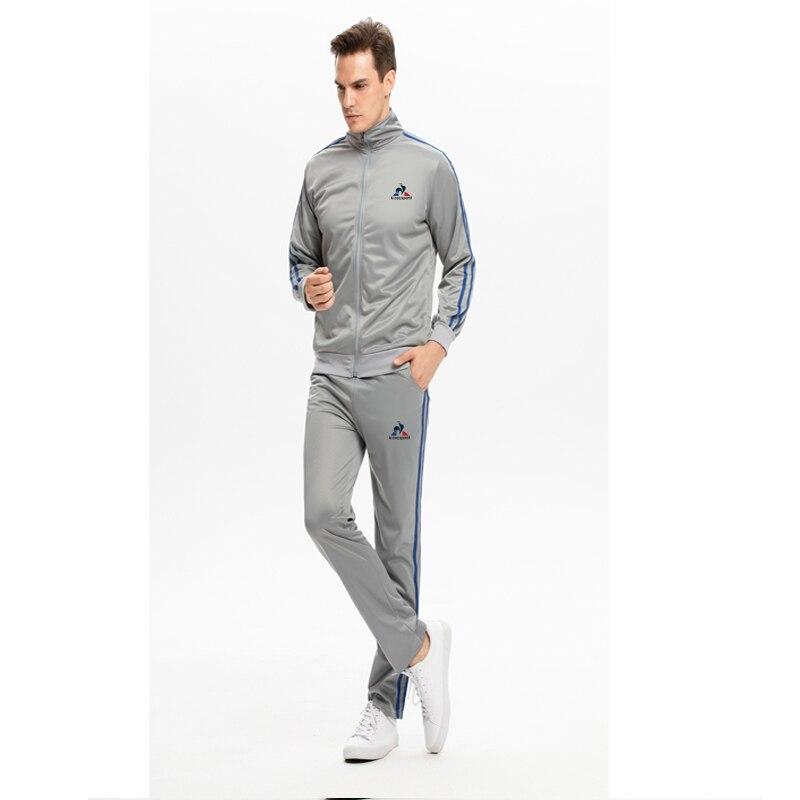 2020 Spring And Autumn New Men's Polyester Sportswear Suit Casual Sportswear Men's 2-piece Sweatshirt + Pants
