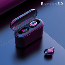 Mini Tws Earphone Bluetooth 5.0 Earbuds Rechargeable Headset Blutooth Wireless Headphone With Charge Box Led Display Handfree(China)