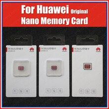 90 เมกะไบต์/วินาที Original Huawei NANO การ์ดหน่วยความจำ 128GB 256GB NM Card P40 Pro PLUS LITE Mate XS Mate30 pro MatePad P30 Pro Mate20 Pro X