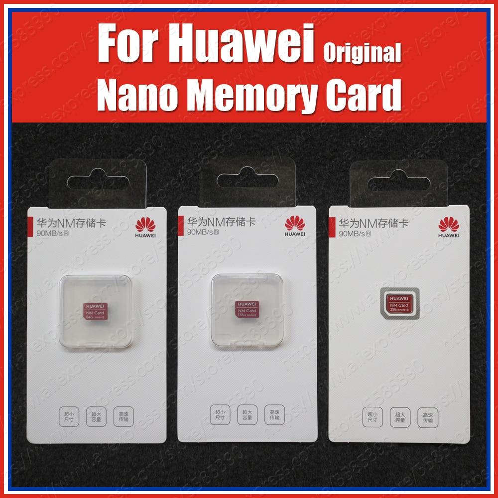 90MB s Original Huawei Nano Memory Card 128GB 256GB NM Card P40 Pro Plus Lite Mate xs Mate30 Pro MatePad P30 Pro Mate20 Pro X