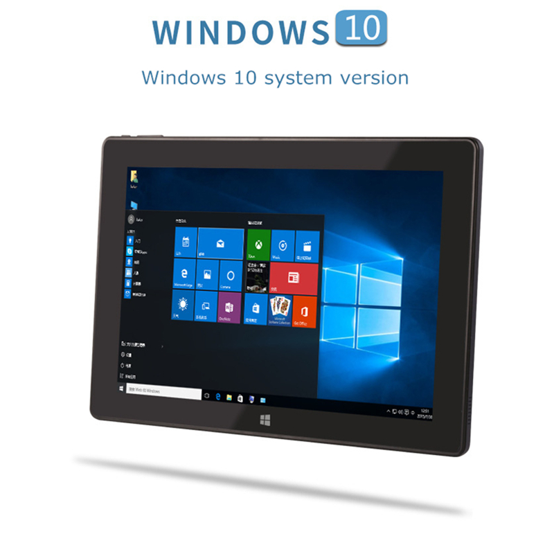 10.1 Inch Tablet Windows 10 & Android 5.1 OS Intel 8350 Quad Core 1280*800 IPS  2G RAM 32G Windows Tablet Pc With HDMI 10.1