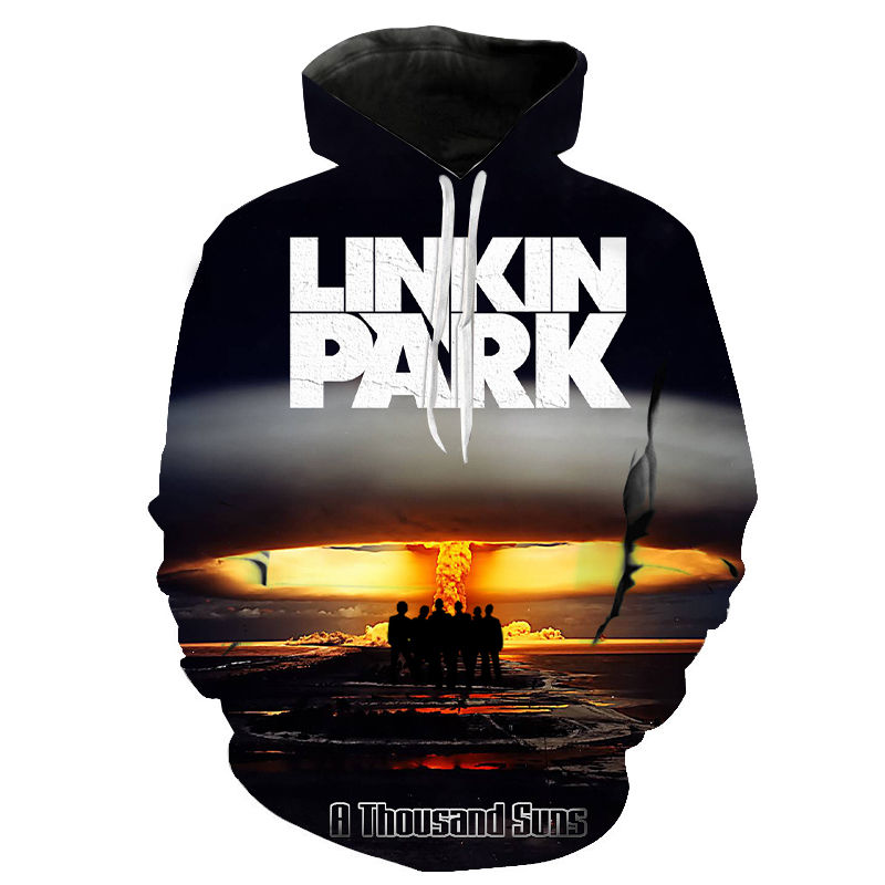 2020 New Style Hoodies Linkin Park Sweatshirts Men Women Children Hip Hop Lincoln Rock Band Fashion Casual Hoody Streetwear