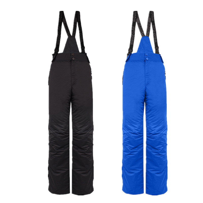Outdoor Sports High Quality Ski Pants Suspenders Men Windproof Waterproof Warm Colorful Winter Snow Snowboard Trousers