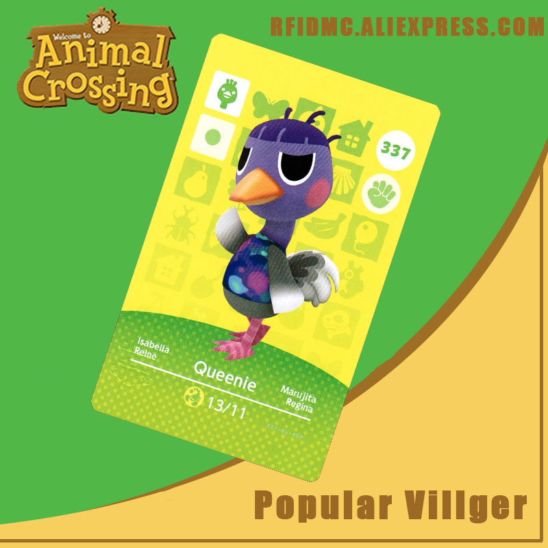 337 Queenie Animal Crossing Card Amiibo For New Horizons