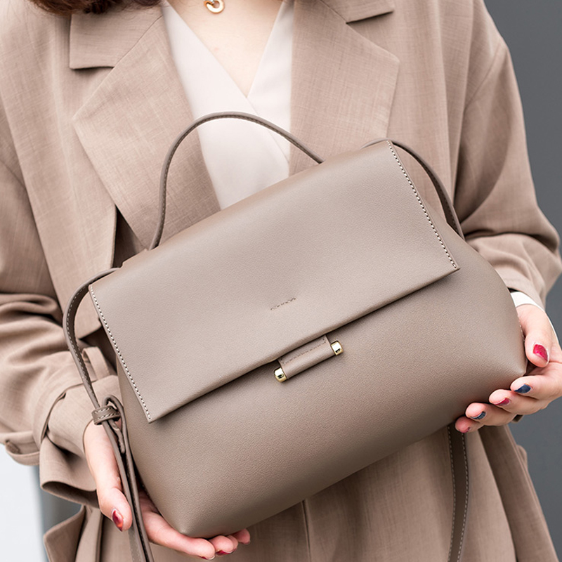 Vintage Wild Messenger Bag Women's Handbag Crossbody Shoulder Bag Female Designer Casual Tote Handbag Bolso Mujer B43-42